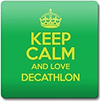 Verde Keep Calm and Love Decathlon cierre magnético color 0828