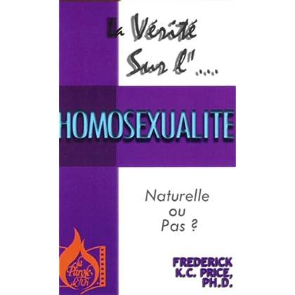 La vérité sur l'homosexualité