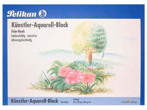 Pelikan 251025 - Aquarellblock A4 10 Blatt