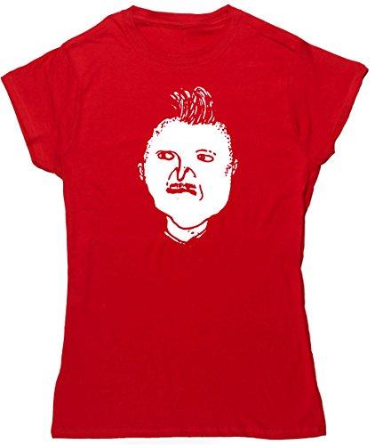 HippoWarehouse Algo Pasa con la Gomina camiseta manga corta ajustada para mujer