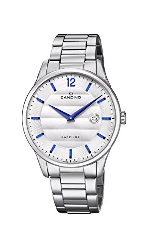 Candino Mens Analogue Classic Quartz Watch with Stainless Steel Strap C4637/1