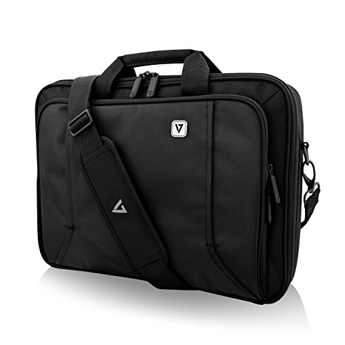"V7 CCP16-BLK-9N 16\"" Professional Front Loading Laptop Case (RFID, Weather Resitant)"