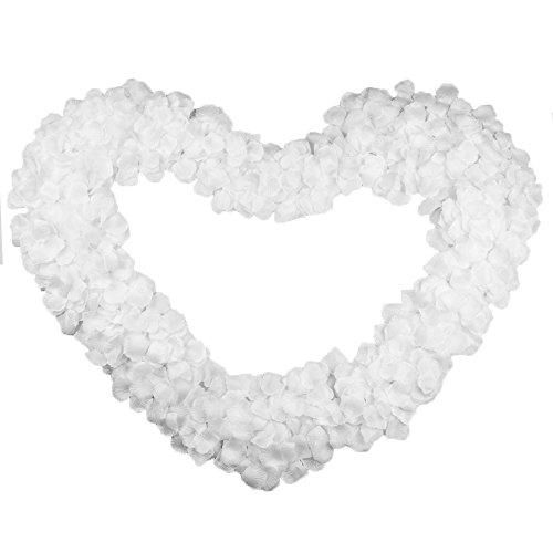 2000 pz petali fiori di rosa bianco artificiale confetti decor per vetrine servizi fotografici layout di scena nozze festa matrimonio
