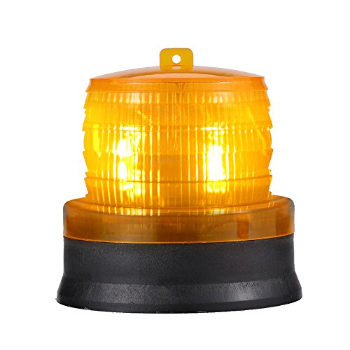 Strobe Lampen (Docooler Solar Strobe Warnlicht/LED Vorsicht Lampe mit Magnetic.)
