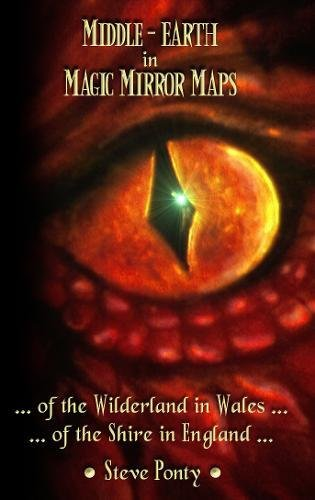 Middle-Earth in Magic Mirror Maps... Of the Wilderland in Wales... Of the Shire in England por Stephen Ponty