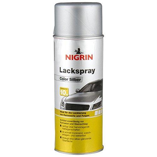 felgenspray silber Nigrin 74110 Lackspray, Silber, 400 ml