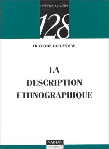 La description ethnographique
