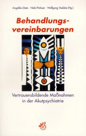 Cover »Behandlungsvereinbarungen«