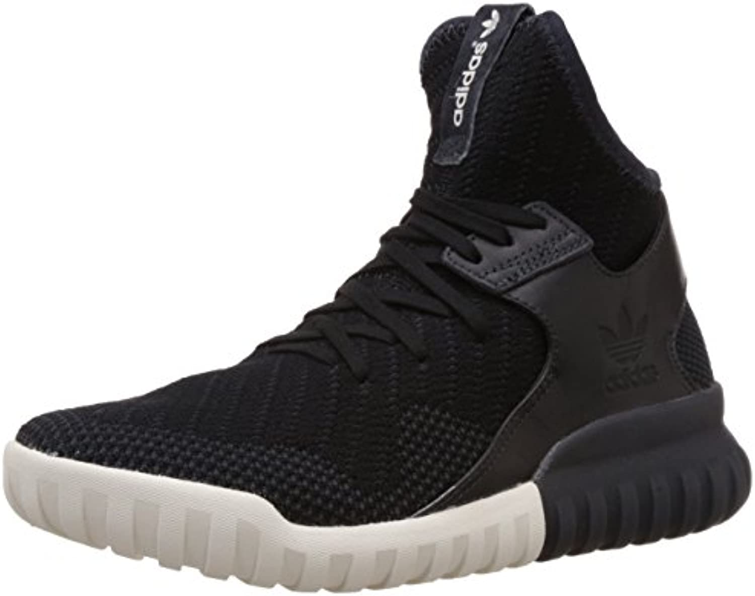 adidas Tubular X Knit Black Carbon Solid Grey -