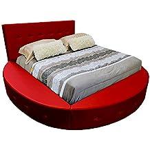 Amazon.it: letto rotondo - Rosso