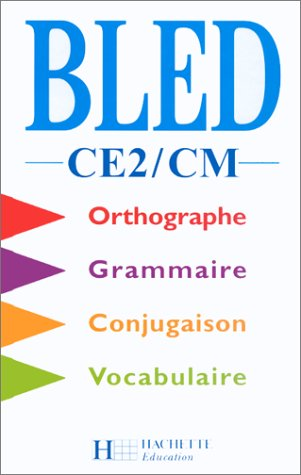 Cours d'orthographe, CE2 - CM. Elève