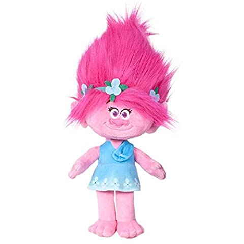 Plush Trolls Poppy Original Dreamworks 30 cm Super Soft Velvet