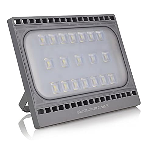 50W LED Floodlight, Flood Light Outdoor,Waterproof IP65, 4200lm, Daylight White