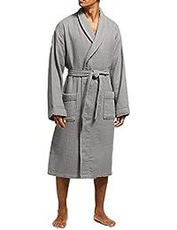 e06bafe157 Allure Bath Fashions Unisex Towelling Spa Quality Robe 100% Cotton  Honeycomb Waffle   Terry Towel Bathrobe Dressing Gown Bath Robe…