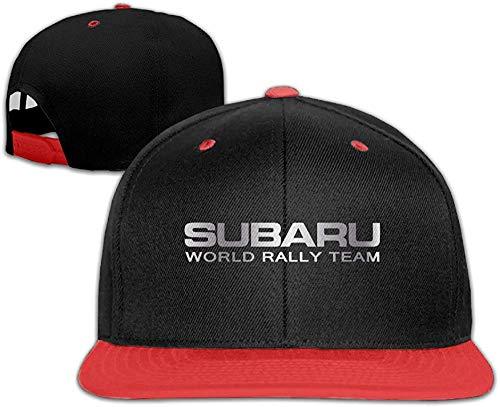 Subaru World Rally Platinum Style Baseball Snapback Cap