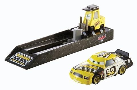 Disney Pixar Cars Mattel Y9062 CA Pit Stop Fahrzeug 3 (Diecast Pit)