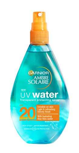Garnier ambre solaire UV agua crema solar SPF20en spray, 150ml