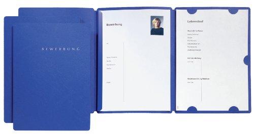 Pagna Bewerbungsset Select Basic (3 Bewerbungsmappen) blau