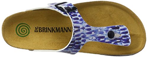 Dr. Brinkmann 700986, Infradito Donna blu (blu)