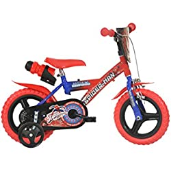 Dino Bikes 12-inch Spider Man Children's Bike