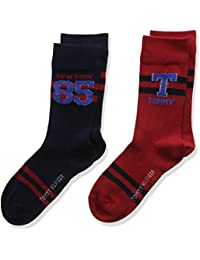 Tommy Hilfiger Th Boys Th 1985 Sock 2p, Chaussettes Garçon, (lot de 2 )