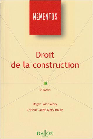 Droit de la construction par Collectif