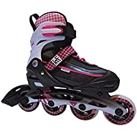 KRF The New Urban Concept - PATA GALLO - Patines de Fitnest - Mujer - Negro