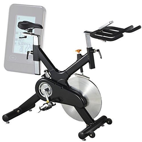 AsVIVA S10 Indoor Cycle Cardio X mit 20kg Schwungscheibe (Filzbremse und Riemenantrieb, inkl. Multifunktionscomputer mit Handpulsmessung, verstellbarer Sattel und Lenker – günstig vom Testsieger) - 3