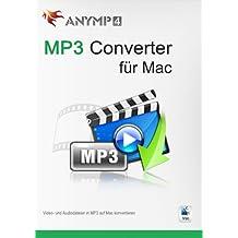 AnyMP4 MP3 Converter für Mac 1 Year License - Musik und Videos in MP3 umwandeln [Download]