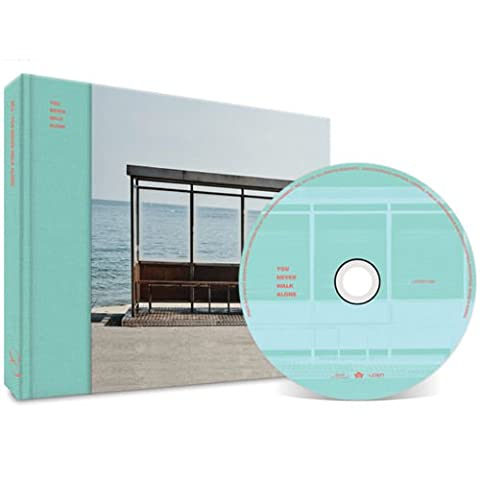 BTS-[WINGS:YOU NEVER WALK ALONE] Album LEFT ver. CD+Stand Photo+Photobook+PhotoCard+Poster+extra Photocards Set SEALED