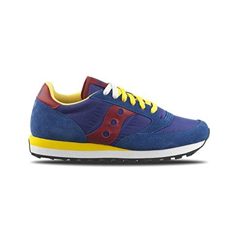Sneakers uomo saucony 2044 419colore blu ocra nuova collezione autunno  inverno 2017 2018 826f12b6ec6