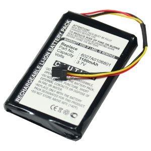 subtel® Batterie premium pour TomTom XL LIVE IQ Routes™ XL LIVE IQ Routes™ Europe XL LIVE IQ Routes™ Regional (1100mAh) Batterie de recharge, Accu remplacement
