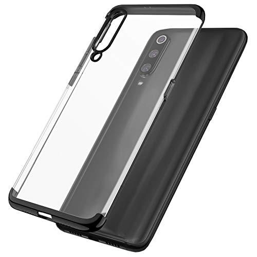 mtb more energy® Schutz-Hülle Elegance für Xiaomi Redmi Note 7 | Note 7 Pro (6.3'') | schwarz | flexibel | TPU Frame Rahmen Case Cover Tasche