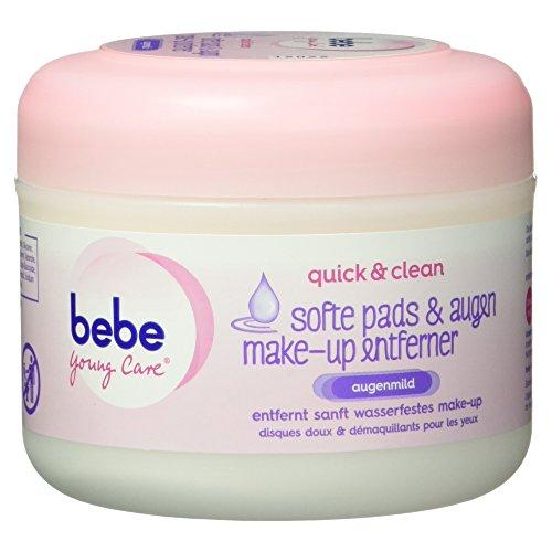 Bebe Young Care Softe Pads und Augen Make-up Entferner, 30 Stück