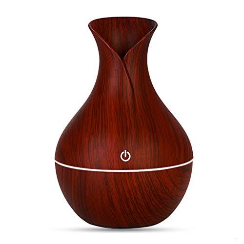 QJXSAN Ultraschall luftbefeuchter vase Aroma diffusor Mini stille zerstäubung Home Office USB ladeluftreiniger (Vase Diffusor)