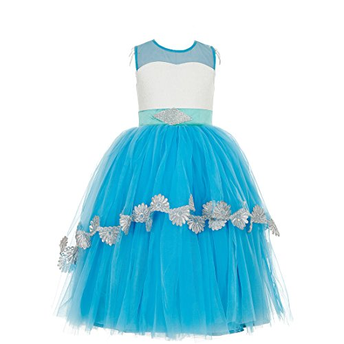 Sofyana Elegant Flower Girl Dress For Weddings Long Tulle Evening ...