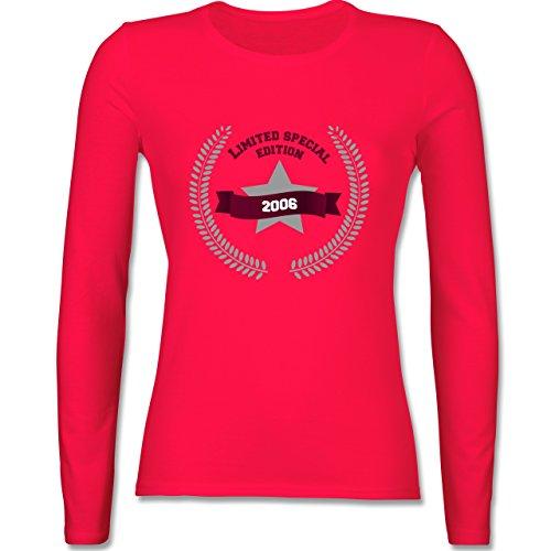 Geburtstag - 2006 Limited Special Edition - tailliertes Longsleeve /  langärmeliges T-Shirt für Damen