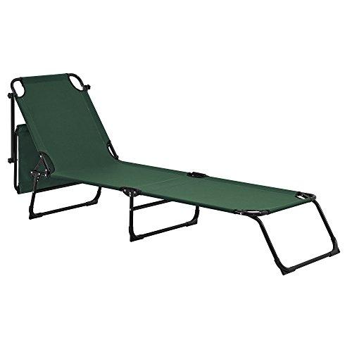 casa-pro-sonnenliege-klappbar-mit-dach-dunkel-gruen-190cm-liege-aus-stahl-verwendung-als-relaxliege-strandliege-gartenliege-2