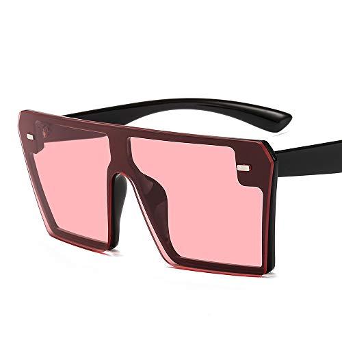 AMINE 2019 neue rahmenlose Sonnenbrille Mode europäischen einteilige Sonnenbrille grenzüberschreitende heiße Brille (C)