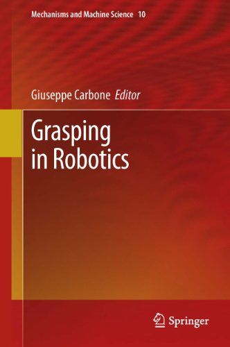 Giuseppe Carbone S Grasping In Robotics 10 Mechanisms And Machine