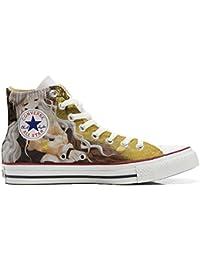 Converse All Star Zapatos Personalizados Unisex (Producto Artesano) Otoño