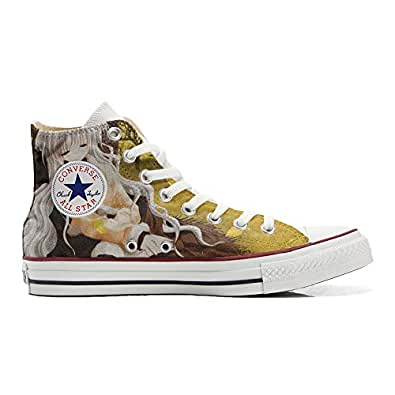Converse All STar CUSTOMIZED , Sneaker Unisex, printed Italian style Autunno - size 35 EU