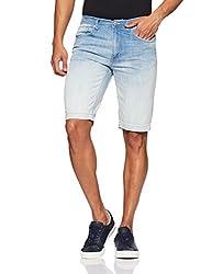 Lee Mens Denim Shorts (8907222986131_L23749D52143_32_Blue)