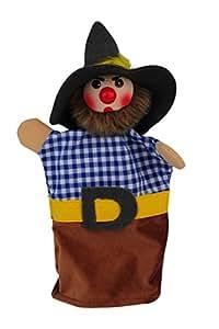 60741 marionnette brigand Potz-Blitz Kersa Beni tête ronde en bois