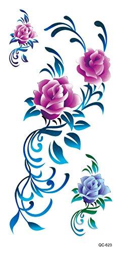 stickers-de-tatouage-temporaire-non-permanent-pour-lart-corporel-fleur-qc623-temporary-tattoo-body-t