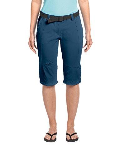 Maier Sports Damen Kluane Caprihose, blau (Aviator), 40