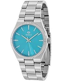 Reloj Marea Mujer B21168/2 Plateado y Azul