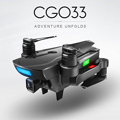 TPulling Intelligente Bürstenloses Motorflugzeug  CG033 Brushless 2.4G FPV Wifi HD Kamera GPS Höhe Halten Quadcopter Drone (mit Kamera)(B)