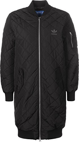 adidas Long W Bomberjacke black