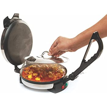 Hilton New Hilton Roti Maker (Multy-Utility) With Stainless Steel Lid